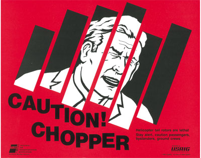 Caution! Chopper