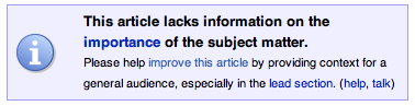 Wikipedia note above the Pirates versus Ninjas article