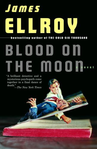 A photograph of the book cover for Blood on the Moon