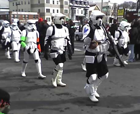 Photograph of Storm Troopers