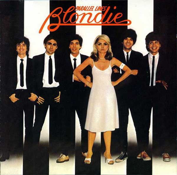 Blondie Albulm Cover for Parallel Lines