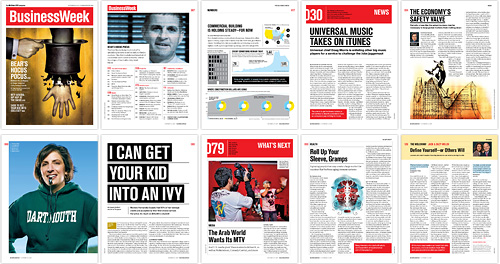Business Week Redesign