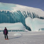 Lake Huron Ice Wave